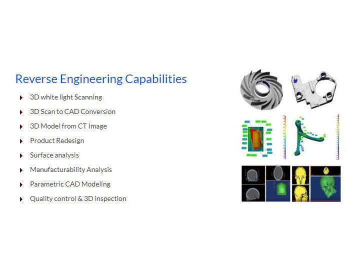 CAPABILITIES - REVERSE ENGINEERING