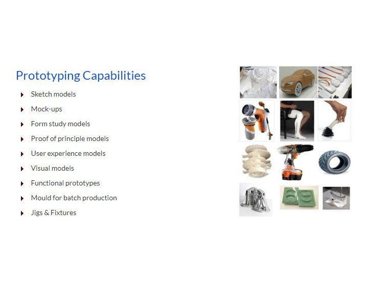 CAPABILITIES - PROTOTYPING