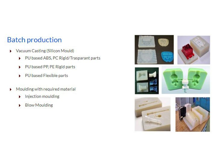 CAPABILITIES - BATCH PRODUCTION